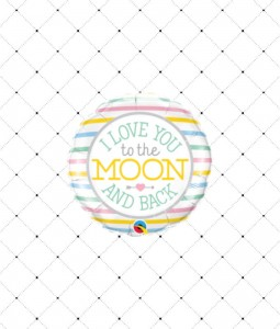 Balon foliowy I LOVE you to the MOON and BACK18""